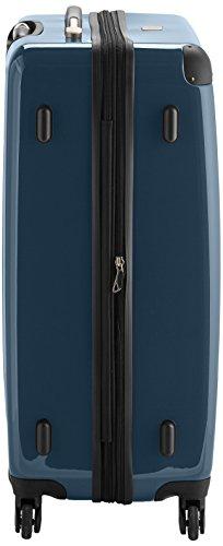 HAUPTSTADTKOFFER - Alex - Hartschalen-Koffer Koffer Trolley Rollkoffer Reisekoffer Erweiterbar, 4 Rollen, 75 cm, 119 Liter, Waldgrün - 4