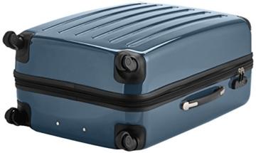 HAUPTSTADTKOFFER - Alex - Hartschalen-Koffer Koffer Trolley Rollkoffer Reisekoffer Erweiterbar, 4 Rollen, 75 cm, 119 Liter, Waldgrün - 5