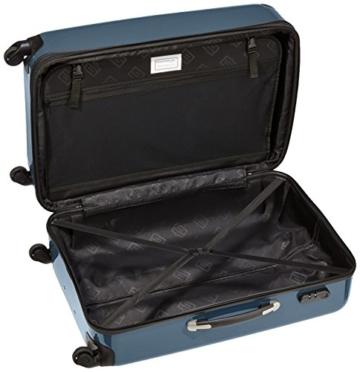HAUPTSTADTKOFFER - Alex - Hartschalen-Koffer Koffer Trolley Rollkoffer Reisekoffer Erweiterbar, 4 Rollen, 75 cm, 119 Liter, Waldgrün - 6