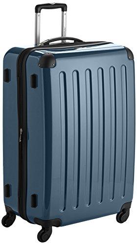 HAUPTSTADTKOFFER - Alex - Hartschalen-Koffer Koffer Trolley Rollkoffer Reisekoffer Erweiterbar, 4 Rollen, 75 cm, 119 Liter, Waldgrün - 1