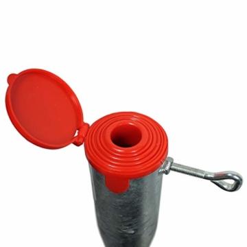 SB-x-treme Einschraubhülse für Sonnenschirme und Wäschespinnen, 57cm Ø25-60 mm, Bodenhülse - 4