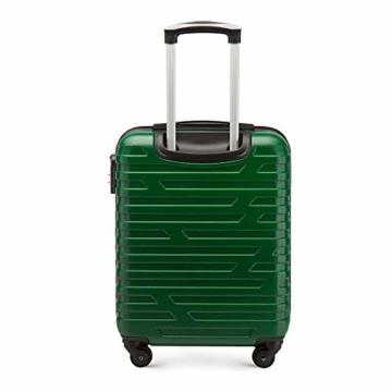 WITTCHEN Koffer – Handgepäck | hartschalen, Material: ABS | hochwertiger und Stabiler | Grün | 38 L | 54x39x23 cm - 3