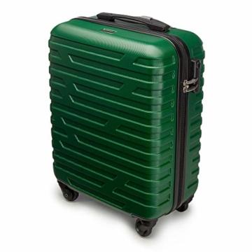WITTCHEN Koffer – Handgepäck | hartschalen, Material: ABS | hochwertiger und Stabiler | Grün | 38 L | 54x39x23 cm - 4