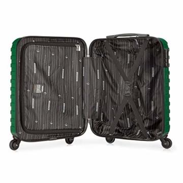 WITTCHEN Koffer – Handgepäck | hartschalen, Material: ABS | hochwertiger und Stabiler | Grün | 38 L | 54x39x23 cm - 6