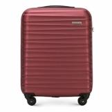 WITTCHEN Koffer – Handgepäck | hartschalen, Material: ABS | hochwertiger und Stabiler | Rot | 34 L | 54x20x38 cm - 1