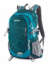 Hauptstadtkoffer blnbag S1-Leichter Wanderrucksack, Sportrucksack mit Regenschutz, FahrradrucksackTagesrucksack für Camping,Rucksack mit Hüftgurt, Unisex 20 Liter, Adria Blue - 1