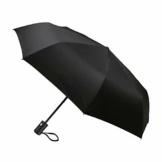 TechRise Regenschirm Taschenschirm mit Einhändiger Auf-Zu-Automatik Kompakt Stockschirm Transportabel für Reise - 1